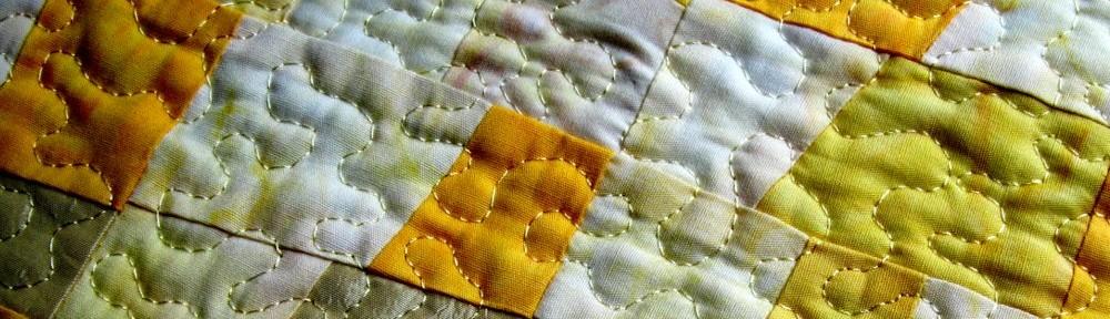 Patchwork Impressionen gelb - Silke Liersch