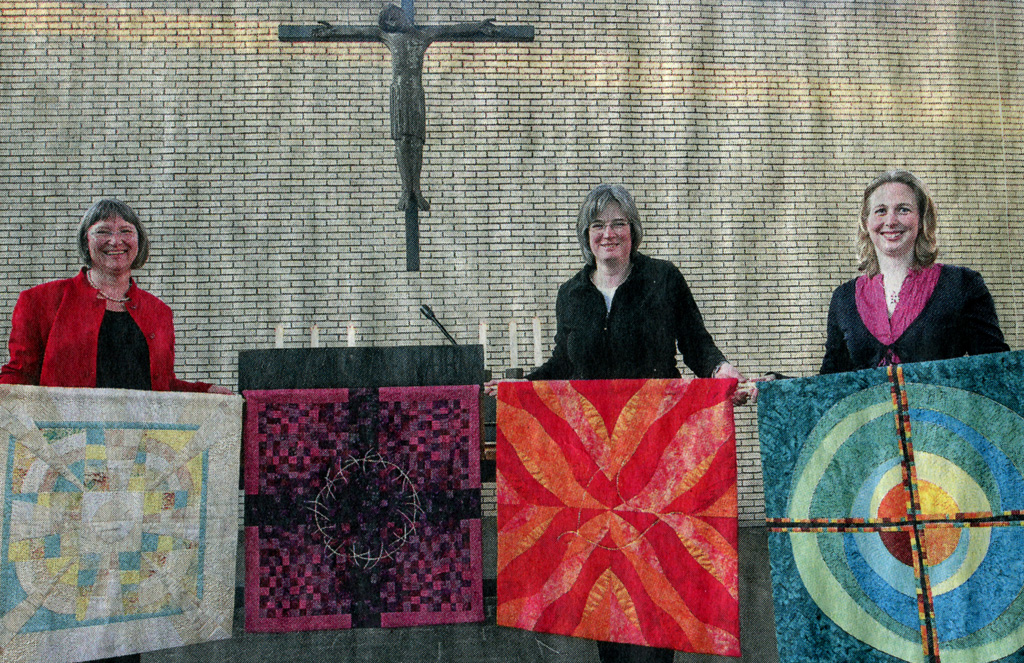 Braunschweiger Zeitung: Patchwork Paramente für St. Lukas - Silke Liersch