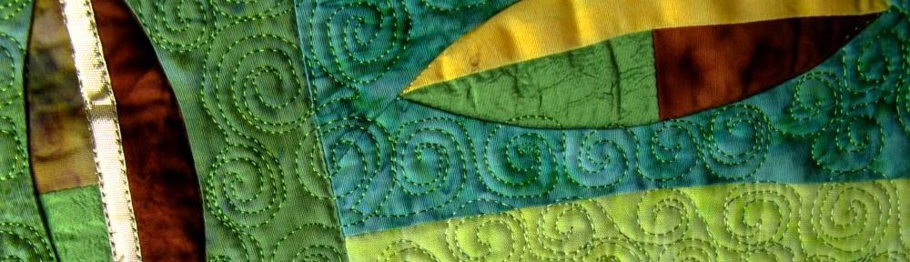 Patchwork Impressione grün - Silke Liersch
