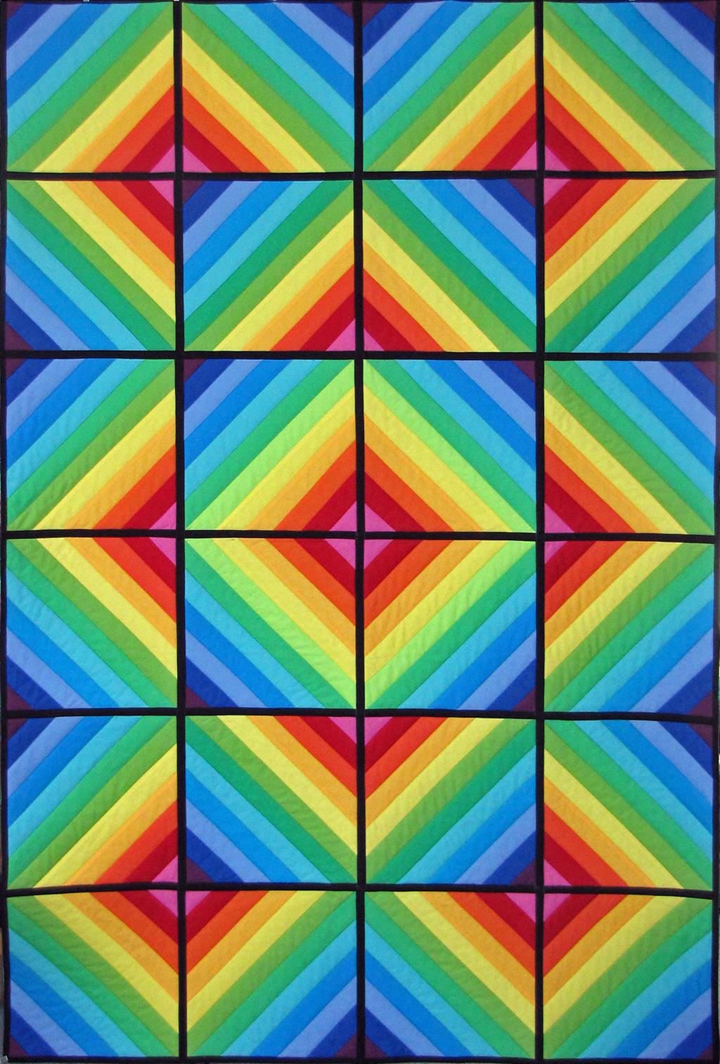 Regenbogenquilt