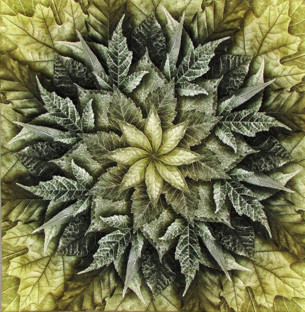 Dream Big Leaf Quilt 2021 - Silke Liersch