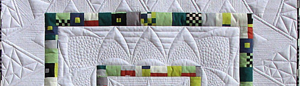 Eine Übung - Quilt - Silke Liersch